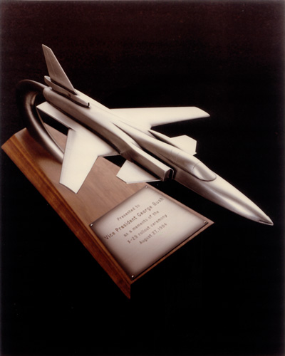 award model plane pewter technology centrifugal casting