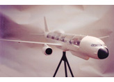plane model fiberglass resin display engineered